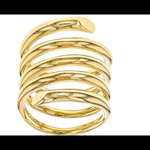 Jewelry - Bellezza Bronze High-Polished Spiral Band Ring 10